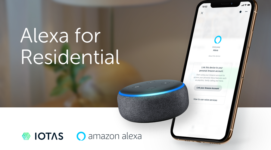 Alexa For Residential Property Management