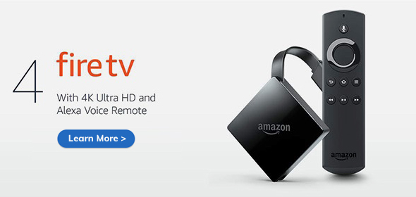 Amazon Alexa Fire TV