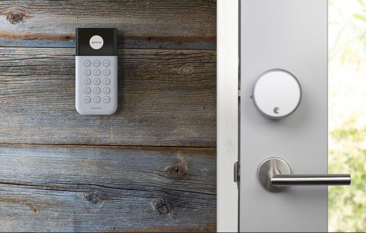 August Smart Locks SimpliSafe