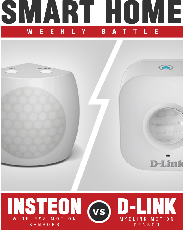 D-Link mydlink Wi Fi Motion Sensor vs Insteon Motion Sensors