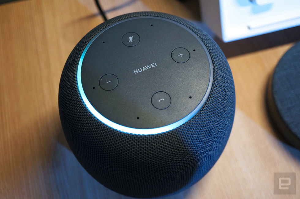 Huawei Apple HomePod Google Home