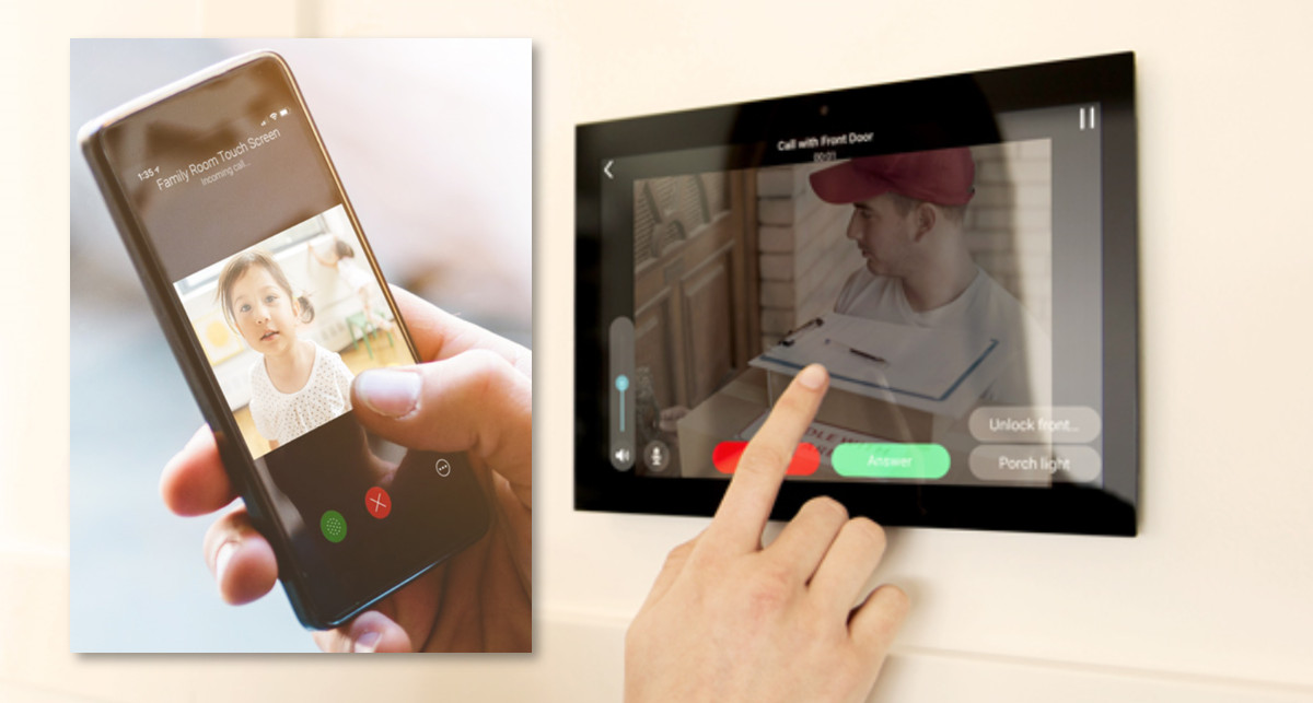 Intercom Anywhere Control4 Smart Home