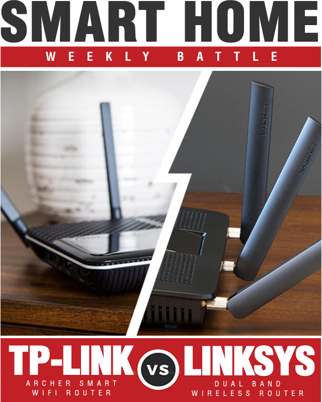 Linksys AC1900 Dual Band Wireless Router vs TP-Link Archer AC2300 Smart WiFi Router