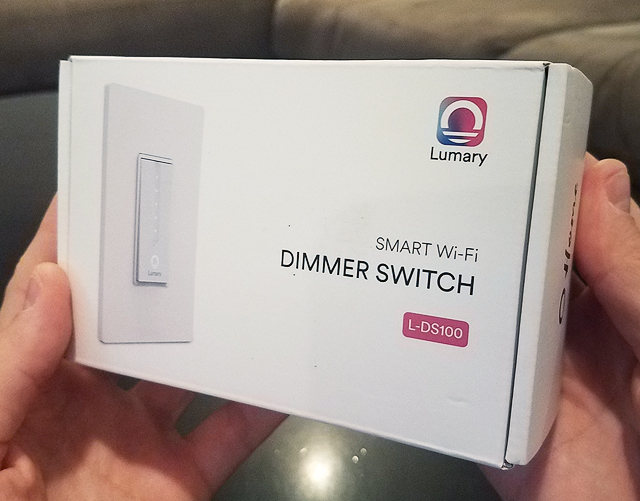 Lumary Smart Dimmer Switch