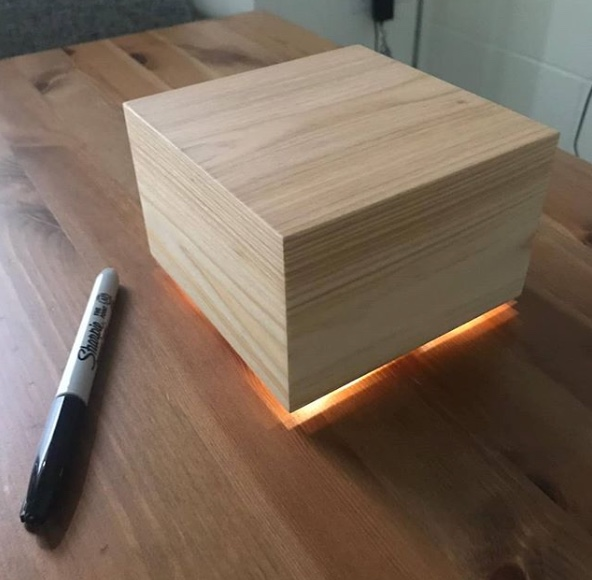 Mark Zuckerberg Light Emitting Box Smart Light