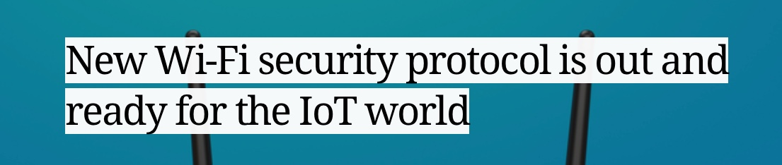Security Protocol IoT Smart Devices