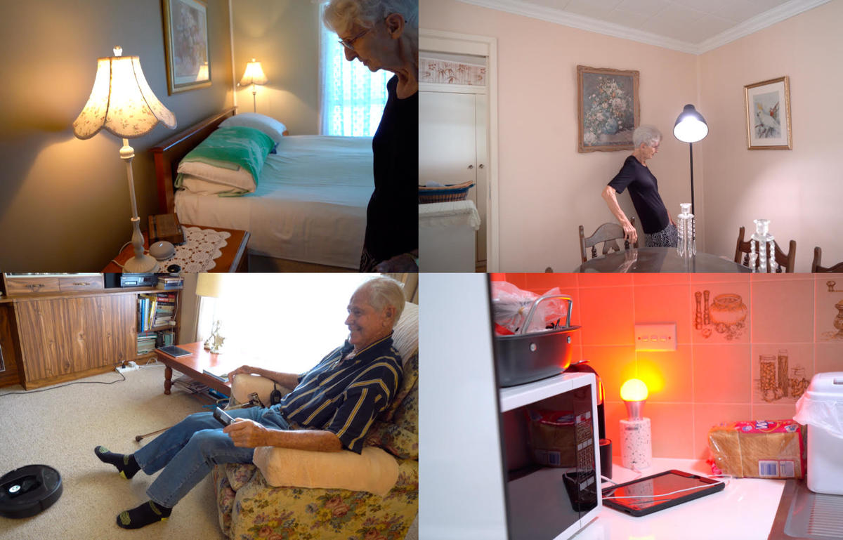 Smart Home Health And Independence Of Seniors