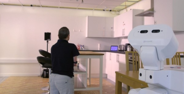 Smart Flat Lab Robots For Assisted Living