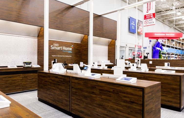 Retail Stores Smart Home Tech
