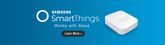 Samsung SmartThings Products That Works With Alexa