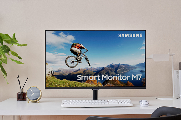 Bixby-Enabled Smart Monitor