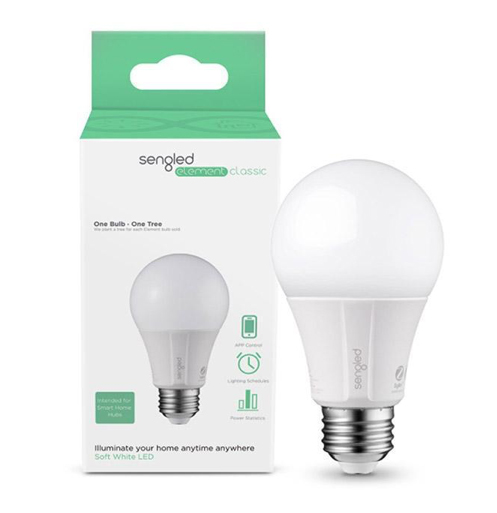 Sengled Element Classic Dimmable A19 Smart Bulb