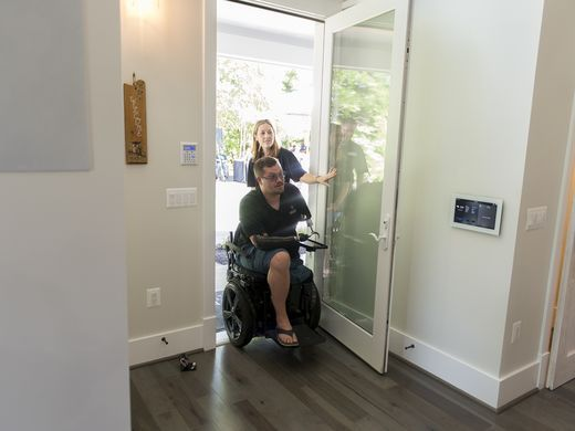 Wounded Vet Smart Home Devices