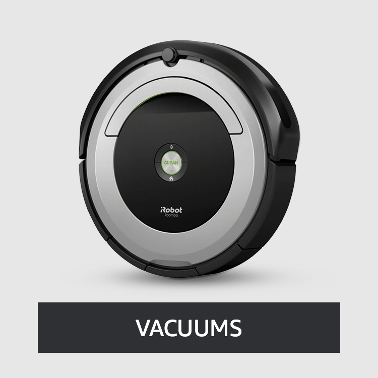 Smart Vacuums & Cleaners