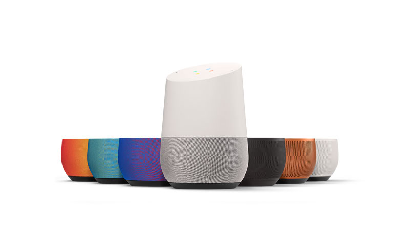 Google Home Skills Connected Home