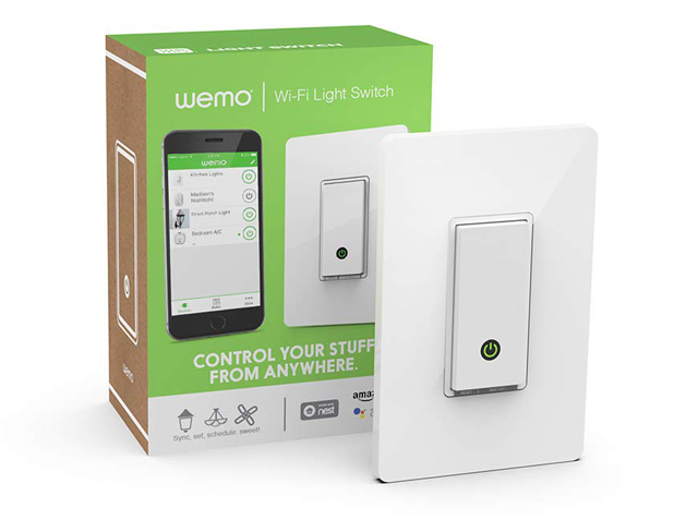 Wemo WiFi Light Switch