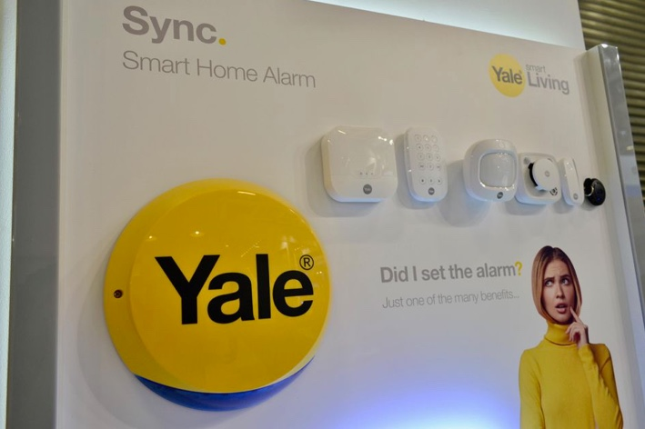 Yale Security Alarm Alexa