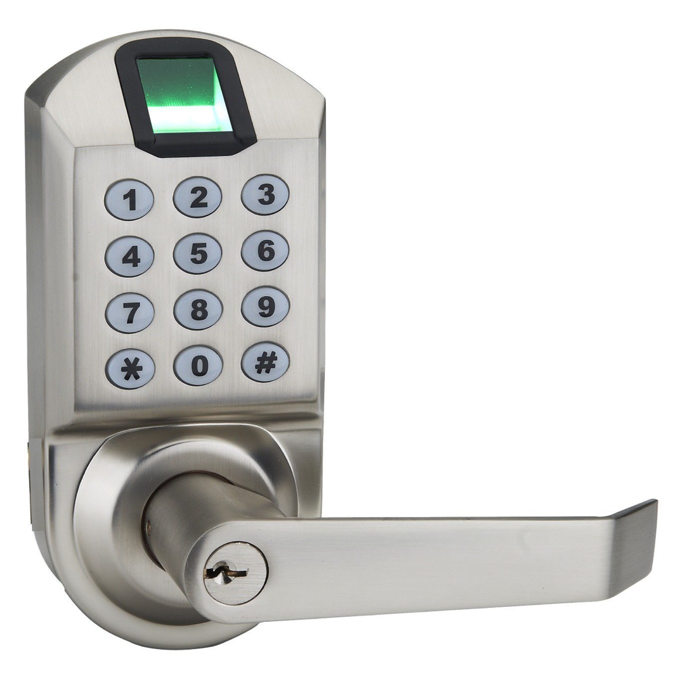 Ardwolf A1 Keyless Keypad Biometric Fingerprint Door Lock