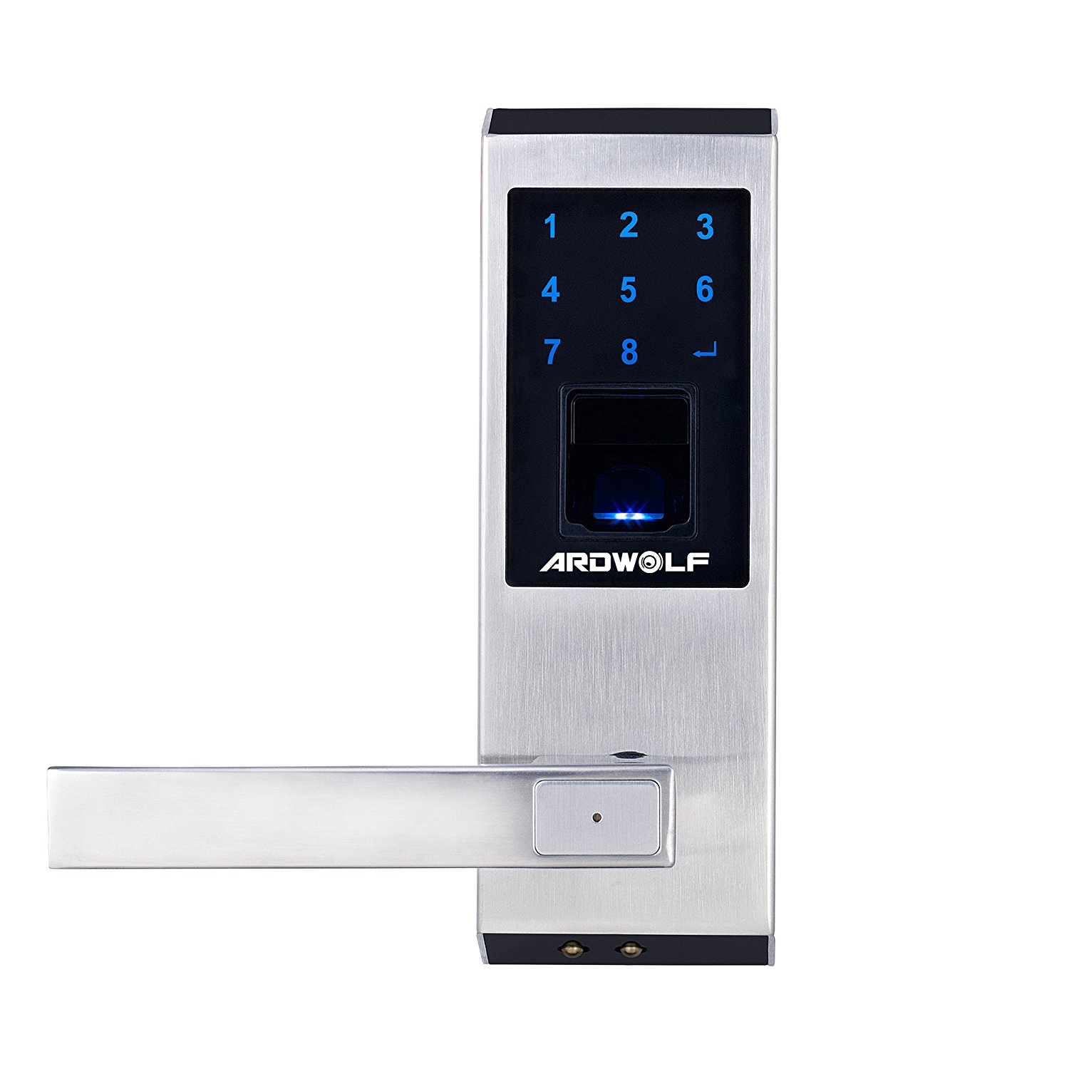 Ardwolf A20 Security High-sensitivity High-Recognition Rate Keyless Biometric Fingerprint Door Lock