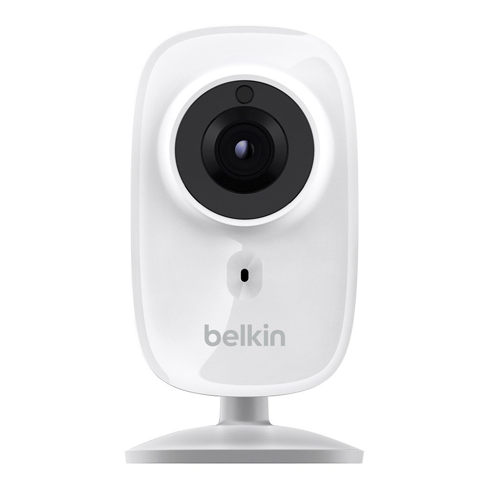 Belkin NetCam HD+ Wi-Fi enabled Camera works with WeMo