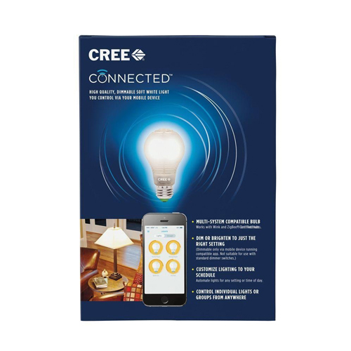 Cree Connected 60W Soft White Dimmable LED Light Bulb