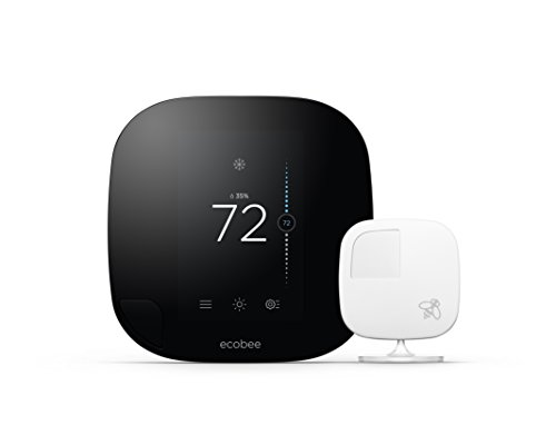 Ecobee3 Thermostat with Sensor Wi-Fi 2nd Generation Works with Amazon Alexa