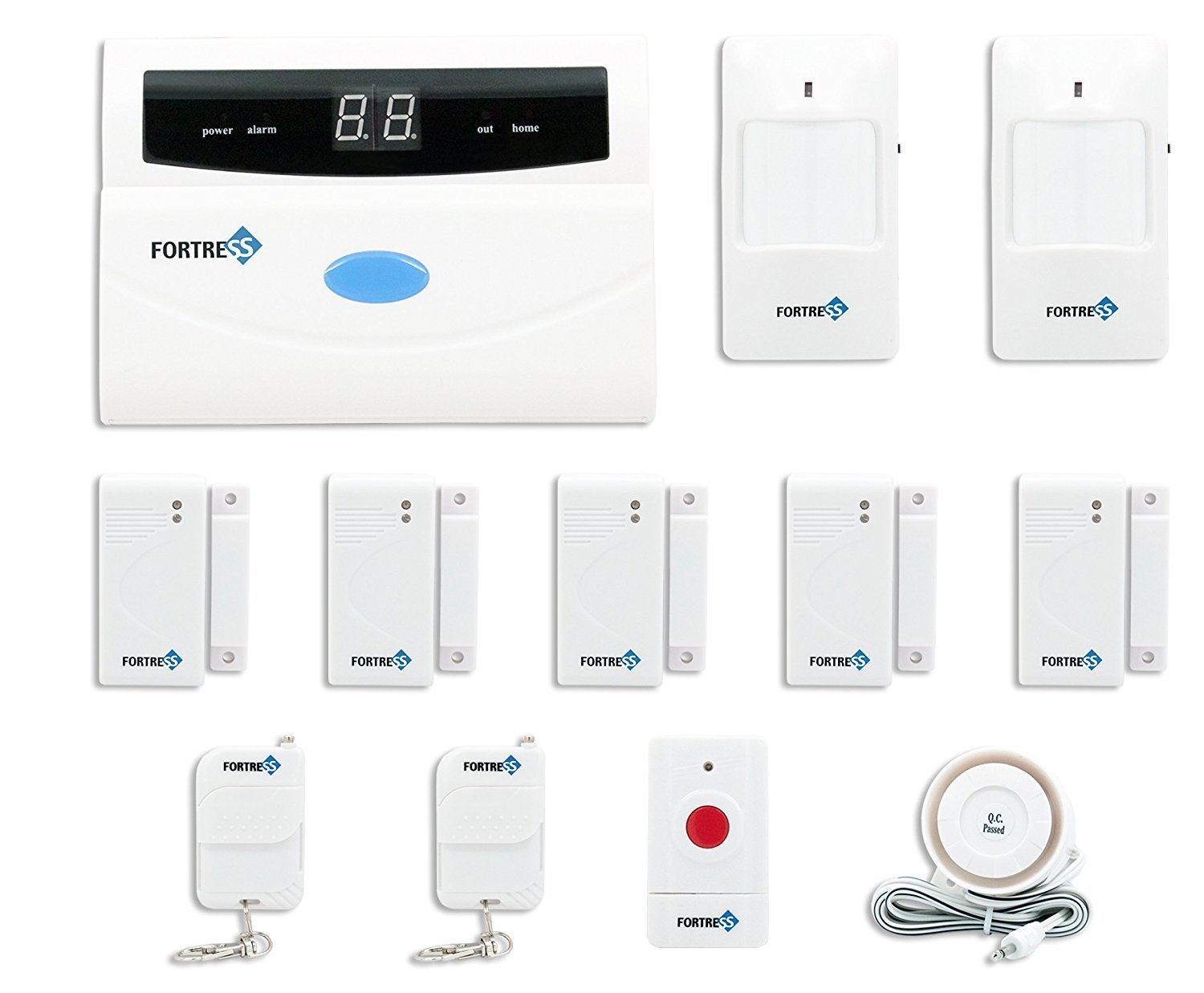 Fortress Security Store S02-A Wireless Home and Business Security Alarm System DIY Kit