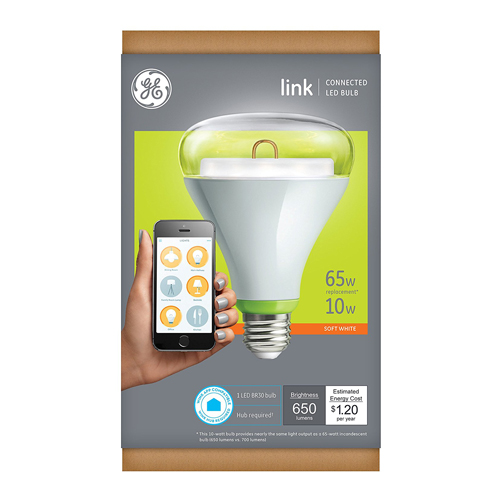 GE Link Smart LED Light Bulb Works with Amazon Alexa