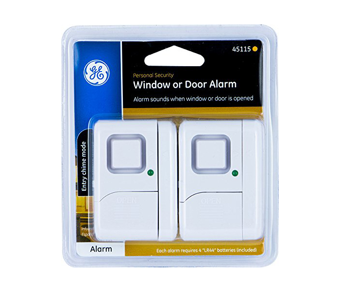 GE Personal Security Window Door Alarm