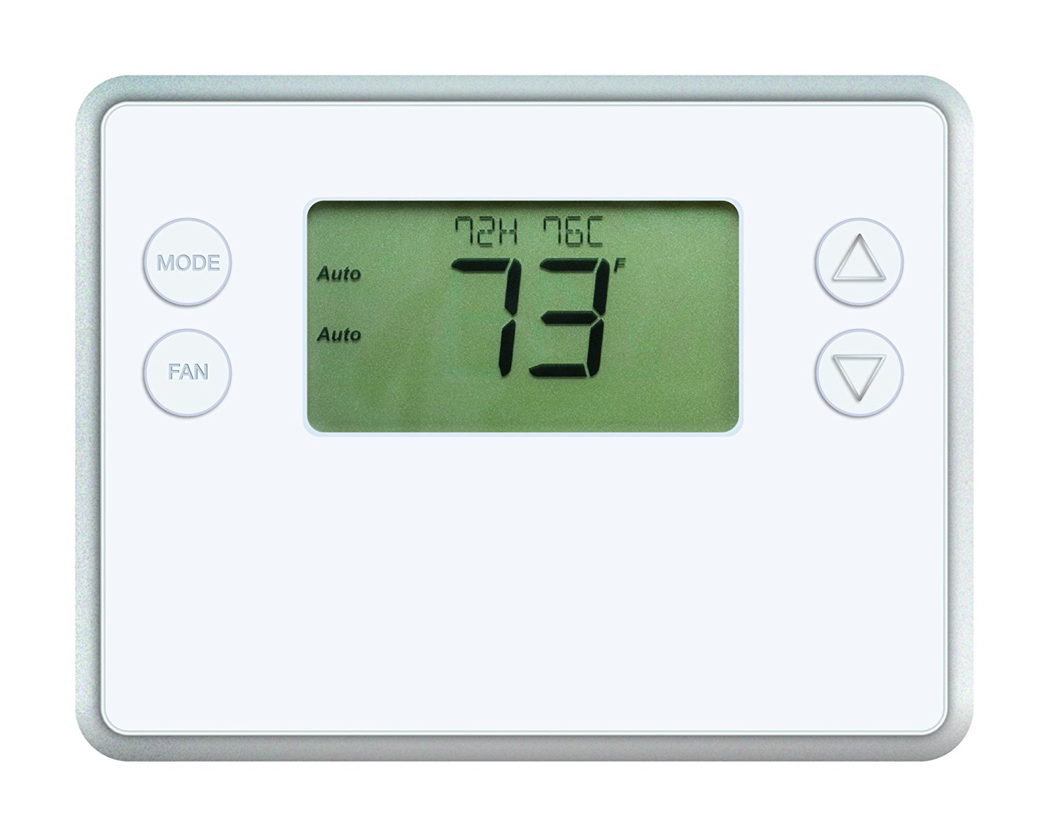 GoControl Thermostat Z-Wave Battery-Powered Works with Amazon Alexa