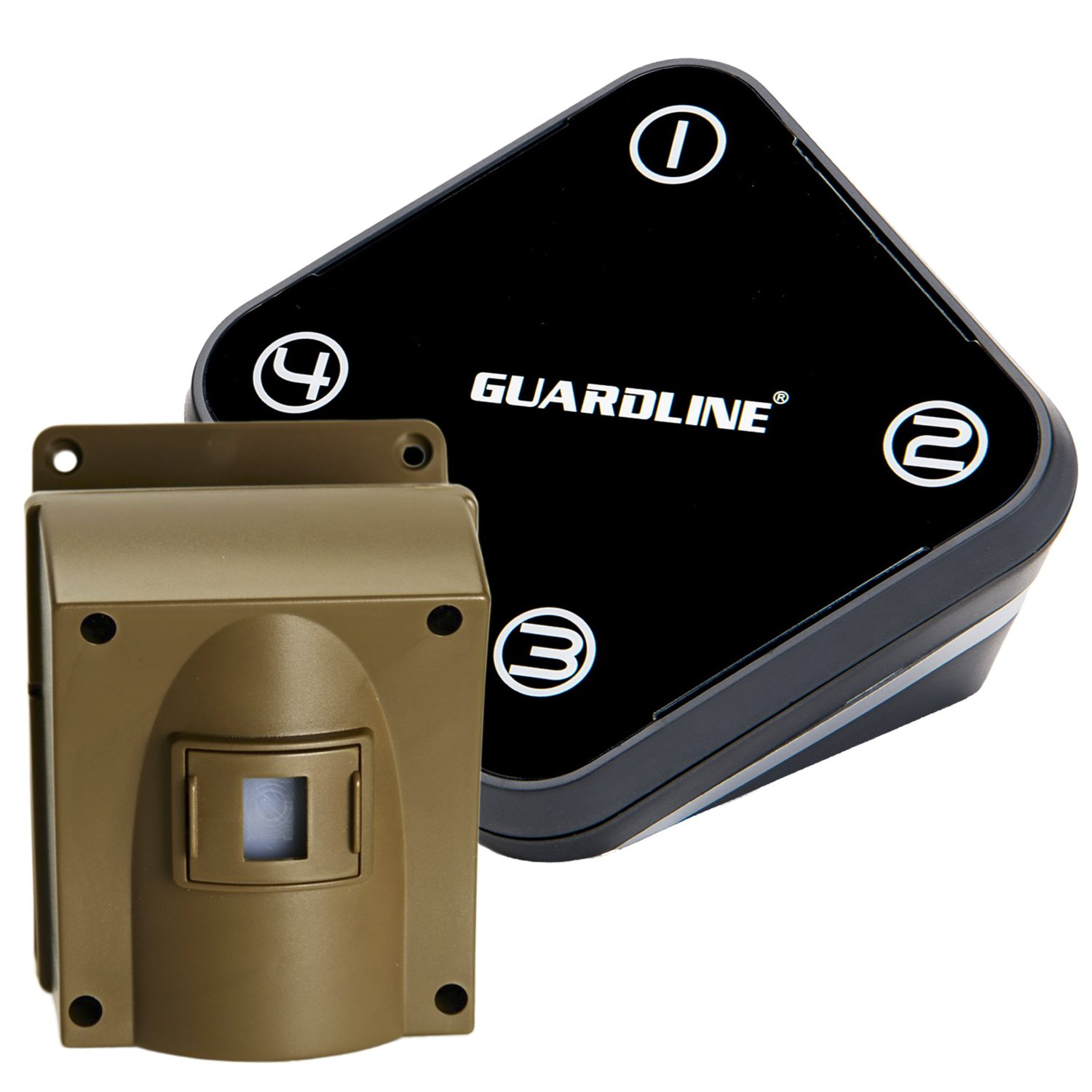 Guardline Wireless Driveway Alarm Professional Outdoor Motion Sensor & Detector Alert System