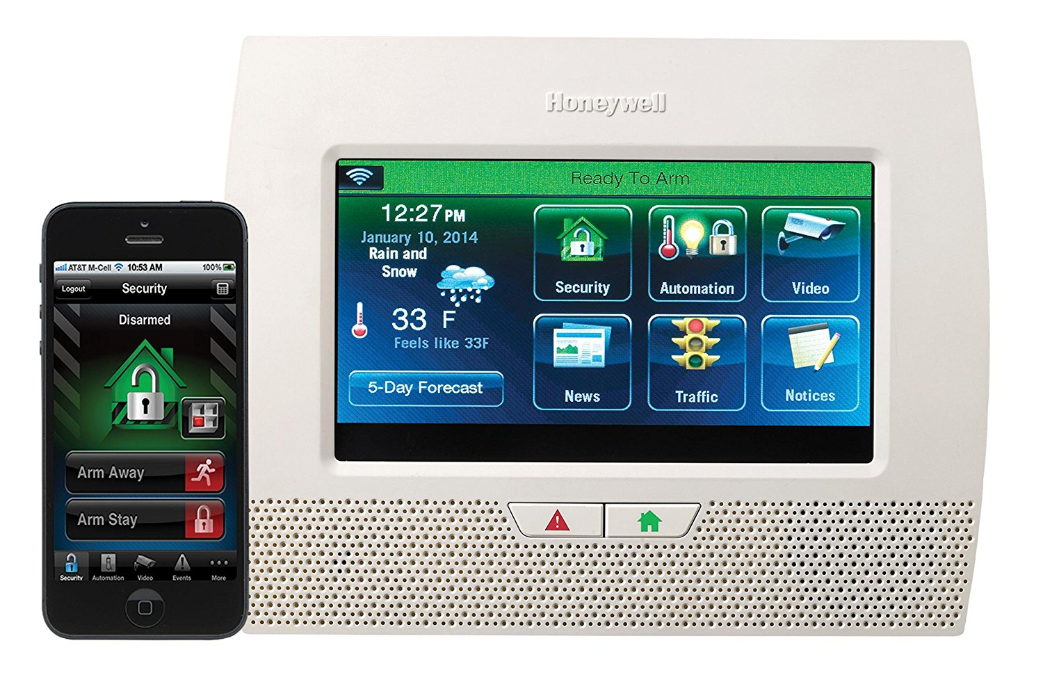Honeywell Lynx Touch L7000 Wireless Security Alarm Kit
