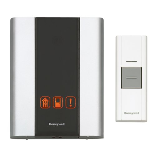 Honeywell Premium Portable Wireless Doorbell Door Chime and Push Button