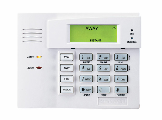 honeywell security keypad smart home devices rh getsmarthomedevices com Honeywell Lynx Alarm Keypad Manual Honeywell LYNXR24 Keypad User Manual