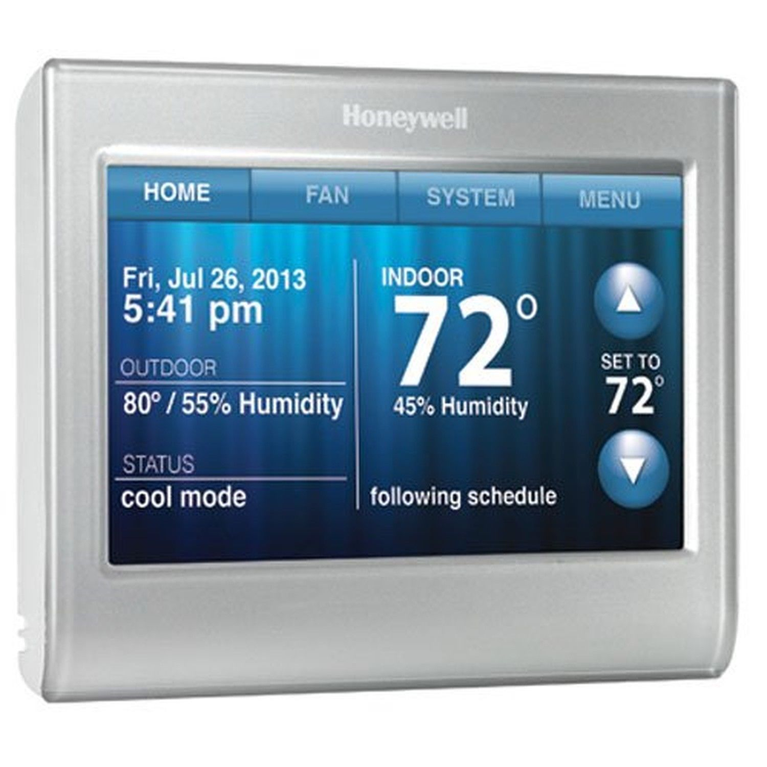 Honeywell Smart Thermostat Wi-Fi Touchscreen Works with Amazon Alexa