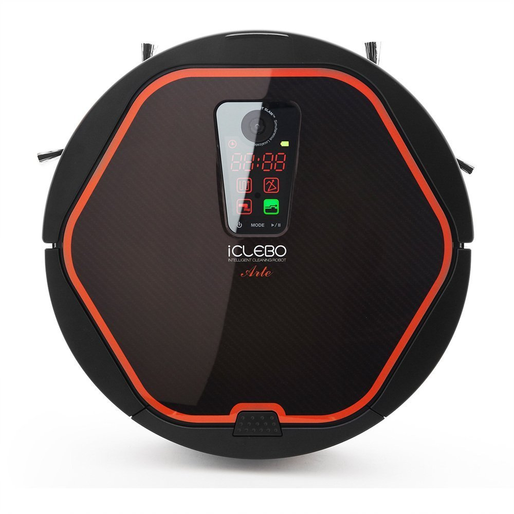 iClebo Arte Smart Home & Office Vacuum Cleaner & Floor Mopping Robot