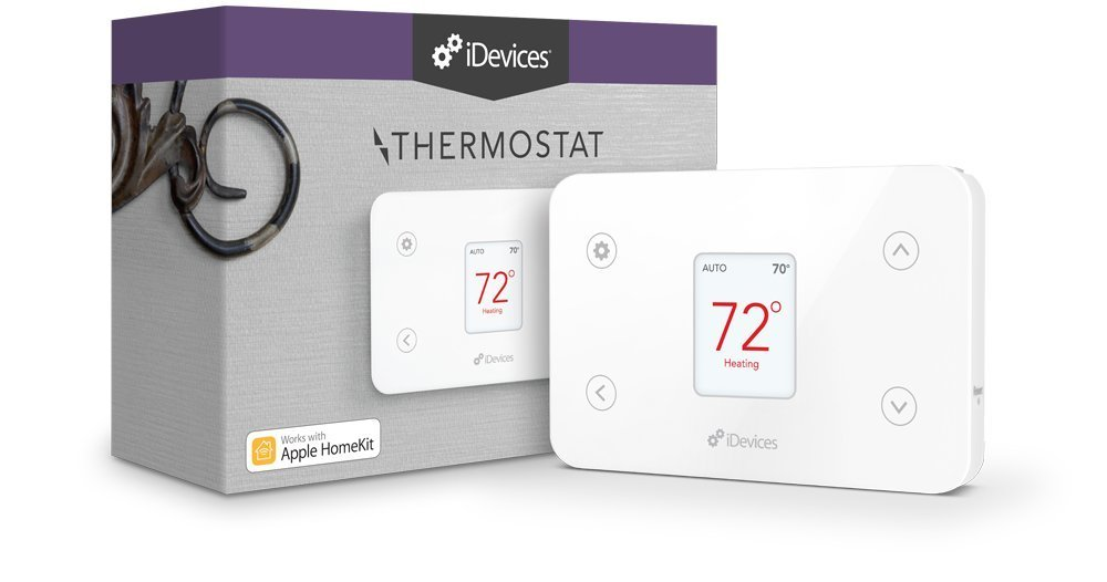 iDevices Thermostat Wi-Fi Thermostat Works with Apple HomeKit and Amazon Alexa