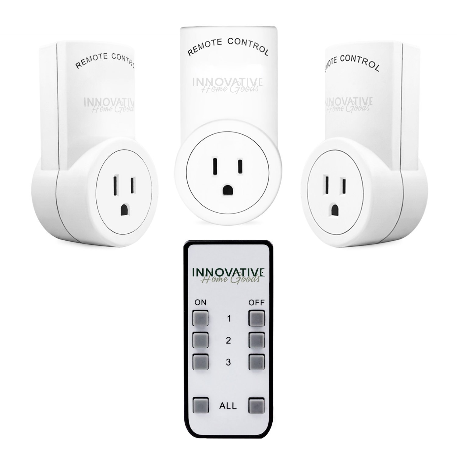 Innovative Home Wireless Remote Control Outlet Switch