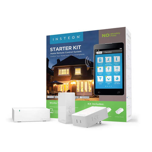 Insteon Starter Kit 1 Hub and 2 Dimmer Plugs