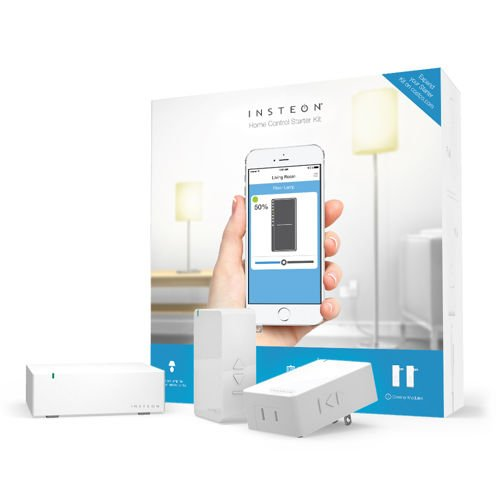 Insteon Home Control Starter Kit 1 Hub & 2 Dimmer Modules