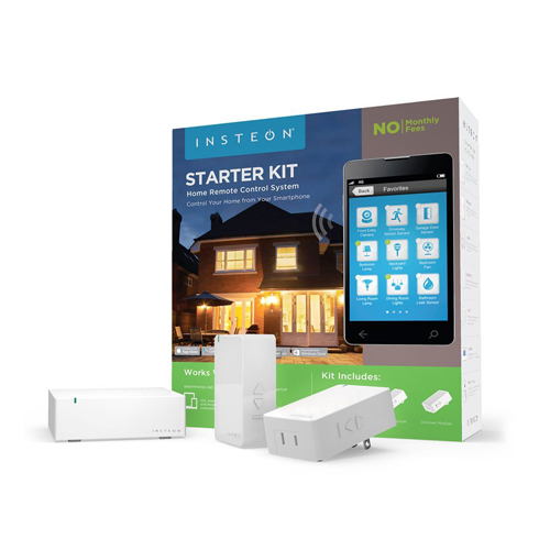 Insteon Starter Kit 1 Hub and 2 Dimmer Plugs Works with Amazon Alexa