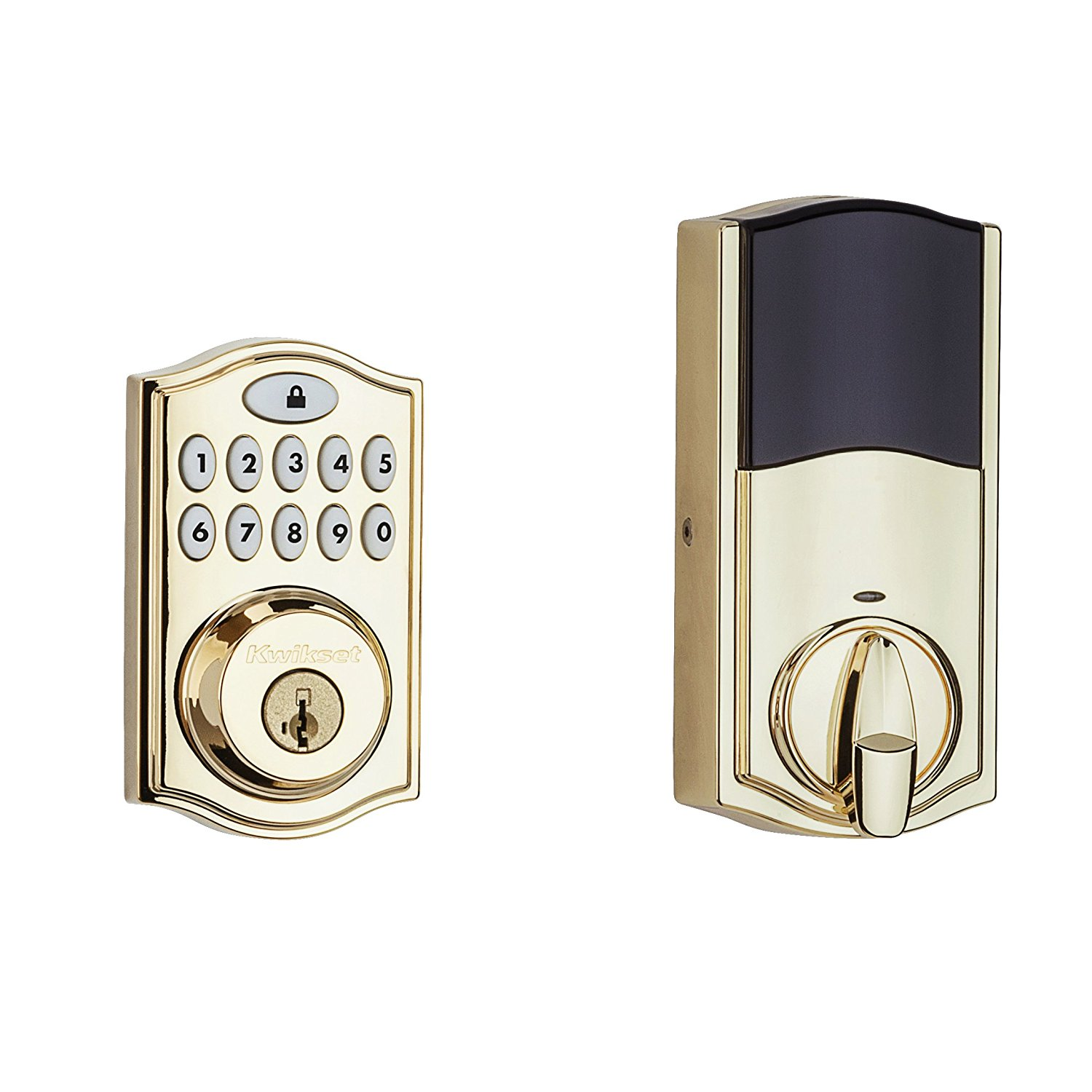 Kwikset SmartCode 914 Electronic UL Deadbolt with SmartKey and Z-Wave