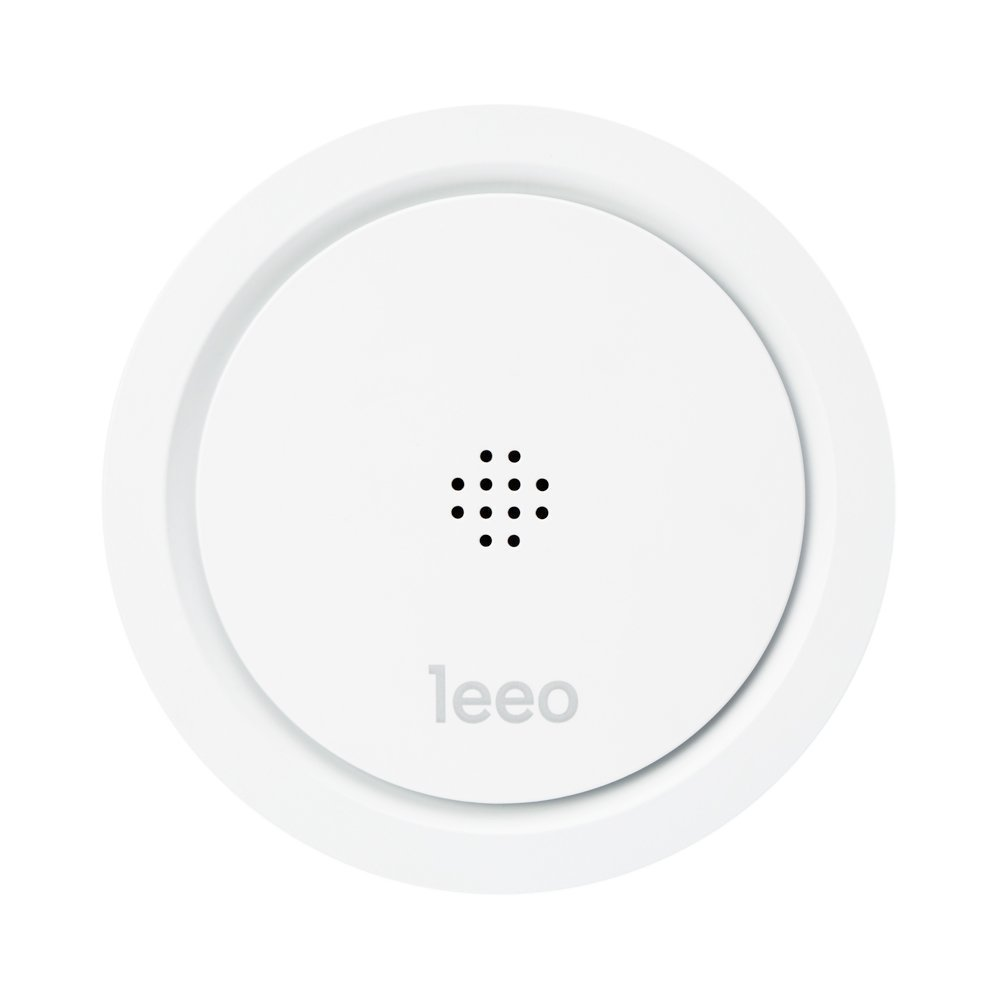 Leeo Smart Alert Smoke CO Remote Alarm Monitor for iOS and Android