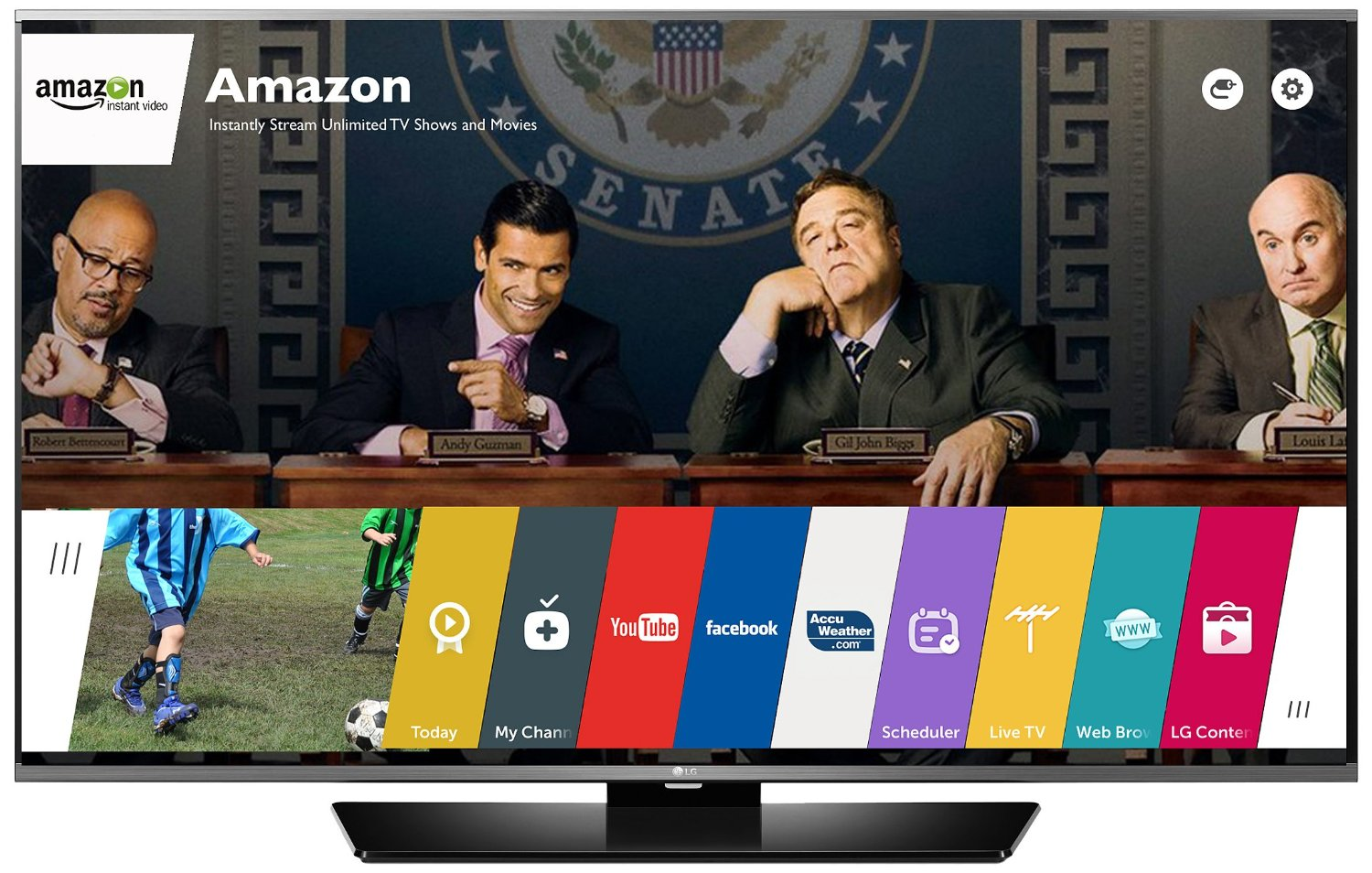 LG Electronics 65LF6300 65-Inch 1080p 120Hz Smart LED TV
