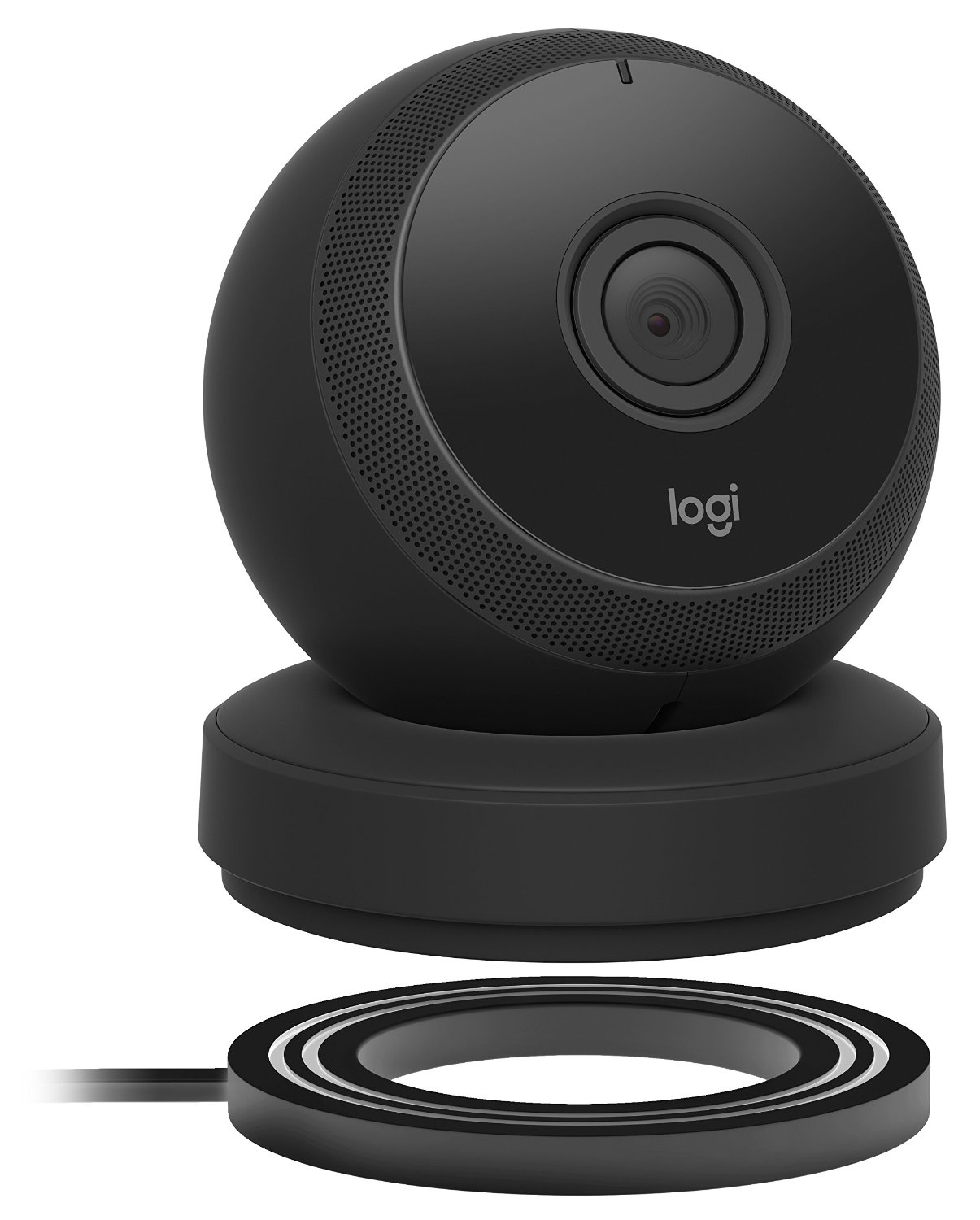 Logitech Circle Wireless 1080p Video Battery Powered Security Camera with Person Detection