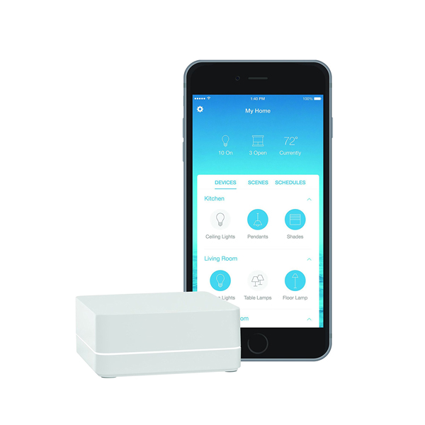 Lutron Caseta Wireless Smart Bridge Home Kit