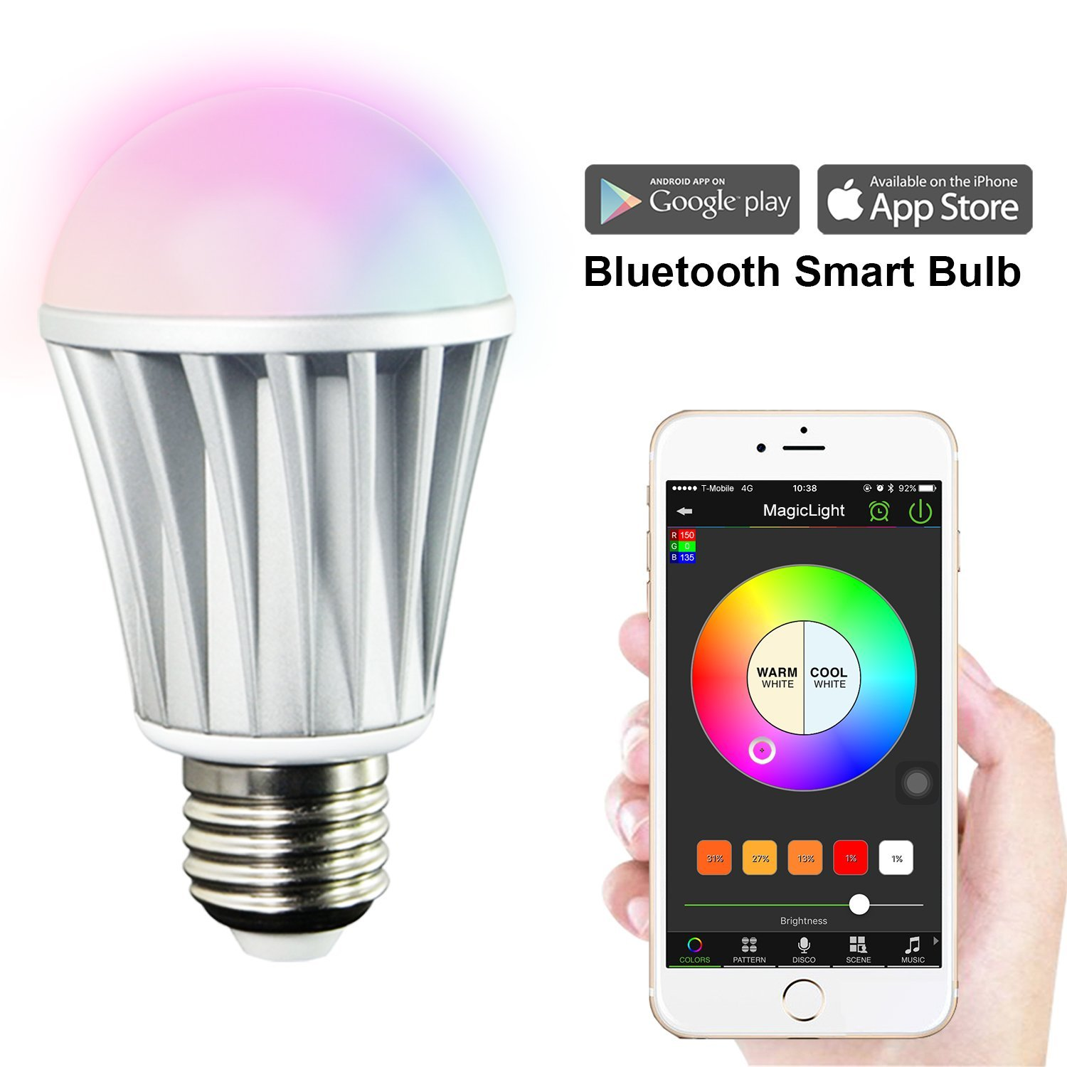 MagicLight Bluetooth Smart Light