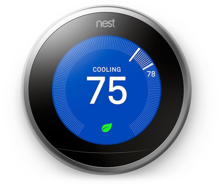 Nest Learning Thermostat 3rd Generation Works with Amazon Alexa