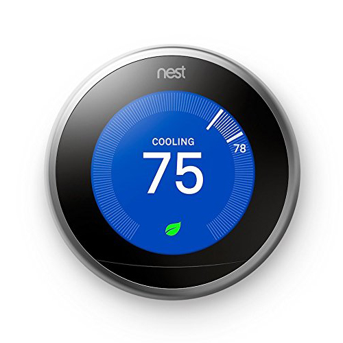 Nest Learning Thermostat Works with Amazon Alexa