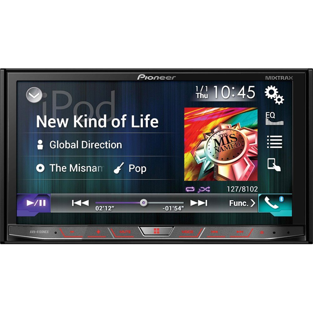 "Pioneer In-Dash Multimedia DVD Receiver with 7"" WVGA Touchscreen Display"
